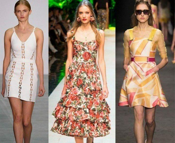 Модные платья 2019 года 15