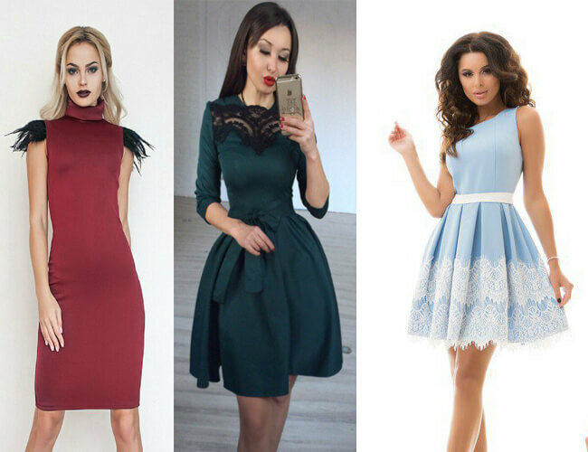 Модные платья 2019 года 14