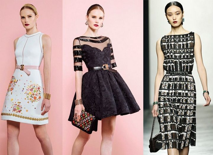 Модные платья 2019 года 17