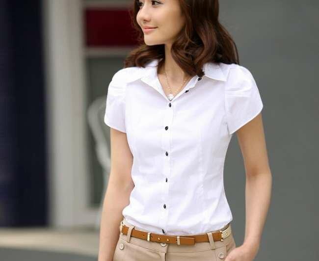 Образы: рубашка с коротким рукавом 1