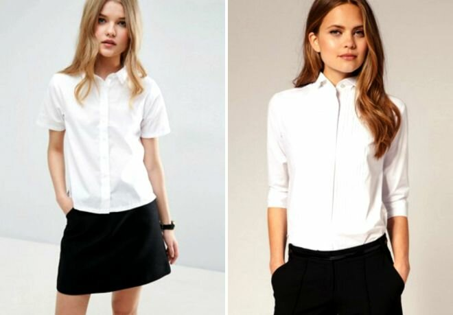 Образы: рубашка с коротким рукавом 5