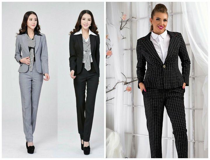 Одеваемся в офис: современные решения для бизнес-леди 23