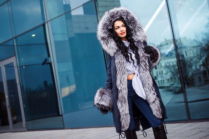 Подборка модных луков зима 2019 16
