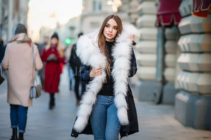 Подборка модных луков зима 2019 13