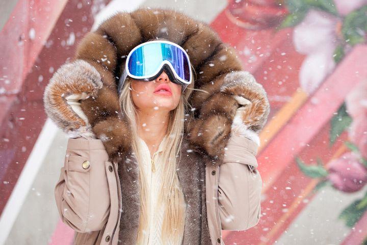 Подборка модных луков зима 2019 17
