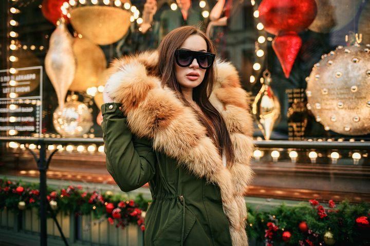 Подборка модных луков зима 2019 14