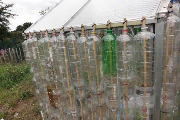 Поделки из пластиковых бутылок фото и описание вока