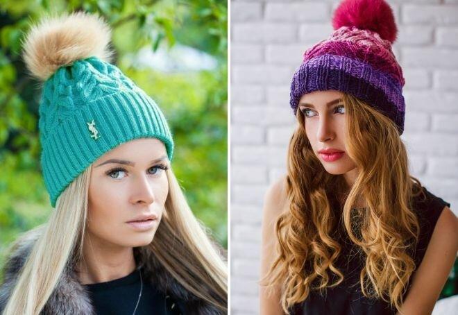 Самые модные шапки этой осени 18