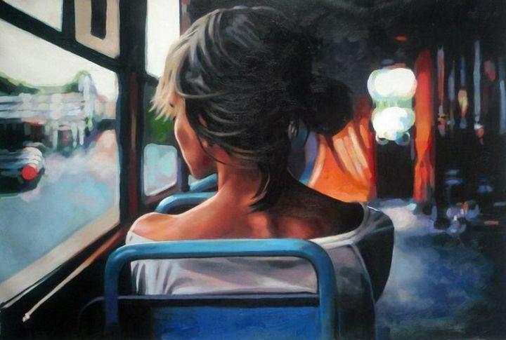 «Сильный запах духов в автобусе» 1