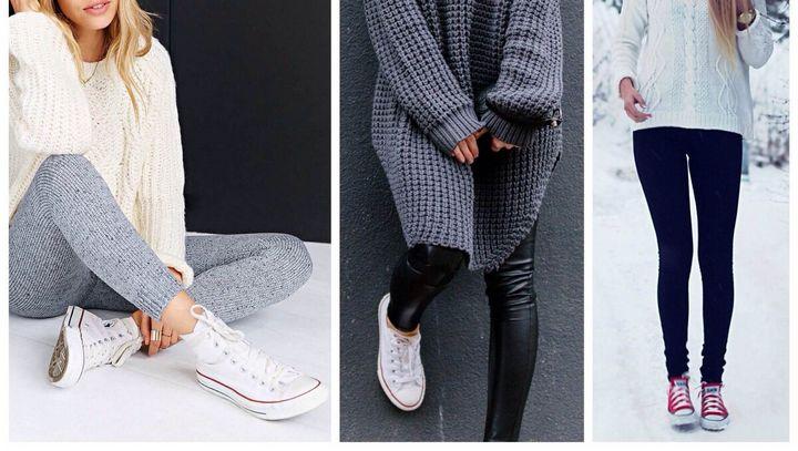 Сочетание в одежде серых оттенков 1