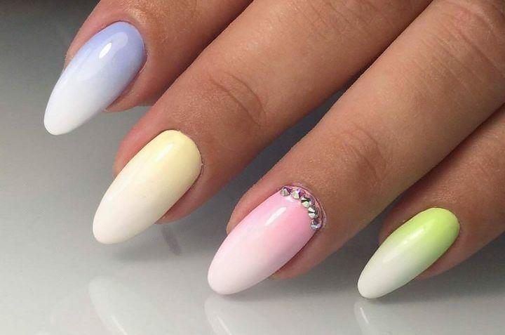 Сочные летние краски в ногтевом дизайне 3