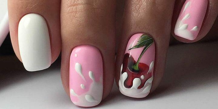 Сочные летние краски в ногтевом дизайне 13