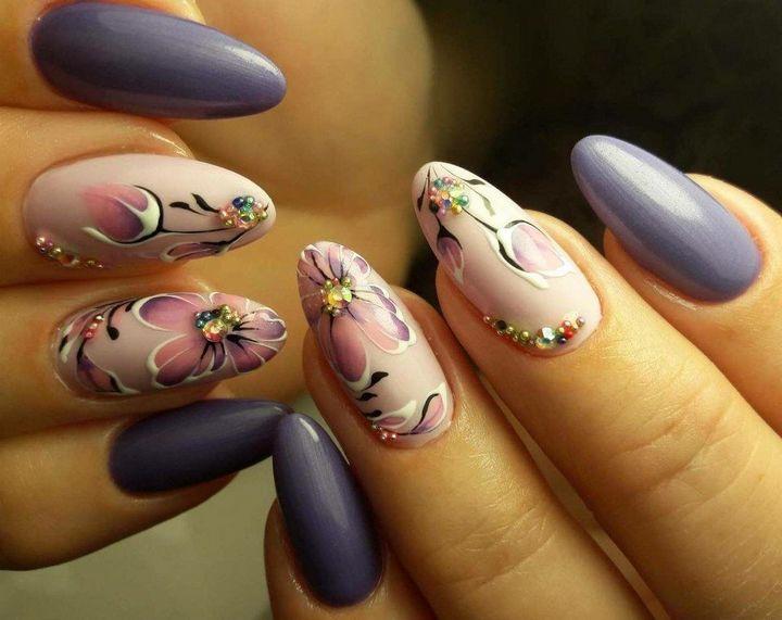 Сочные летние краски в ногтевом дизайне 20