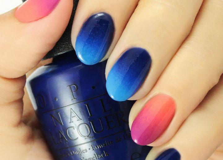 Сочные летние краски в ногтевом дизайне 6
