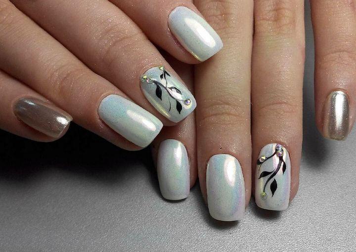 Сочные летние краски в ногтевом дизайне 33