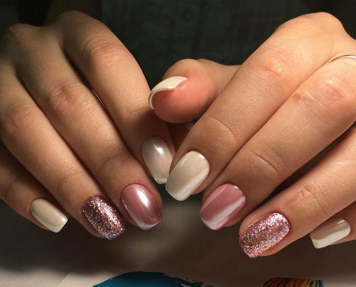 Сочные летние краски в ногтевом дизайне 34