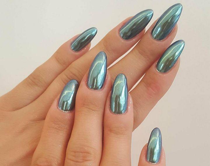 Сочные летние краски в ногтевом дизайне 36