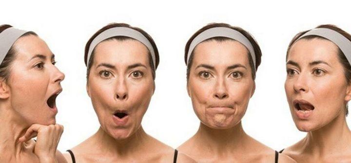 Упражнения, чтобы лицо не выглядело худым 3